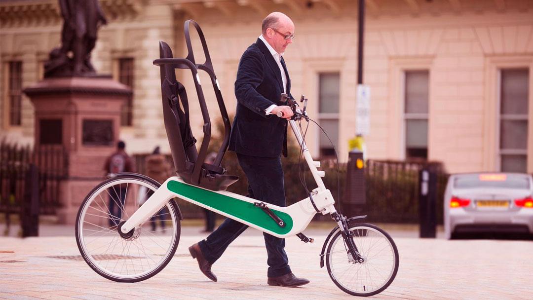Uma bike que pode salvar vidas de ciclistas em caso de um acidente
