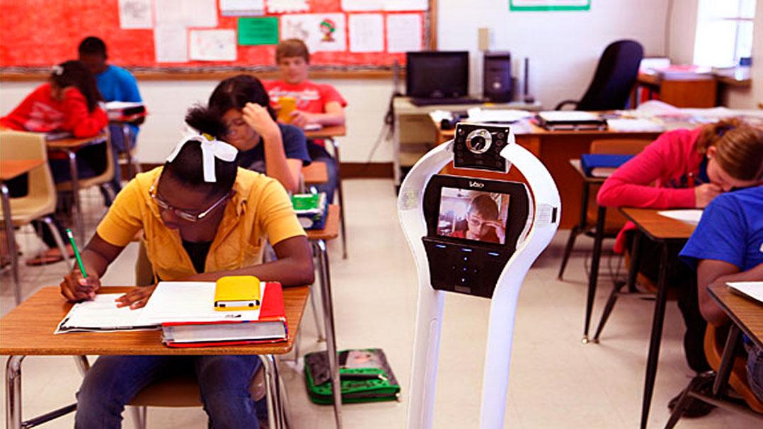Robôs de telepresença melhoram a experiênca escolar de crianças com doenças crônicas