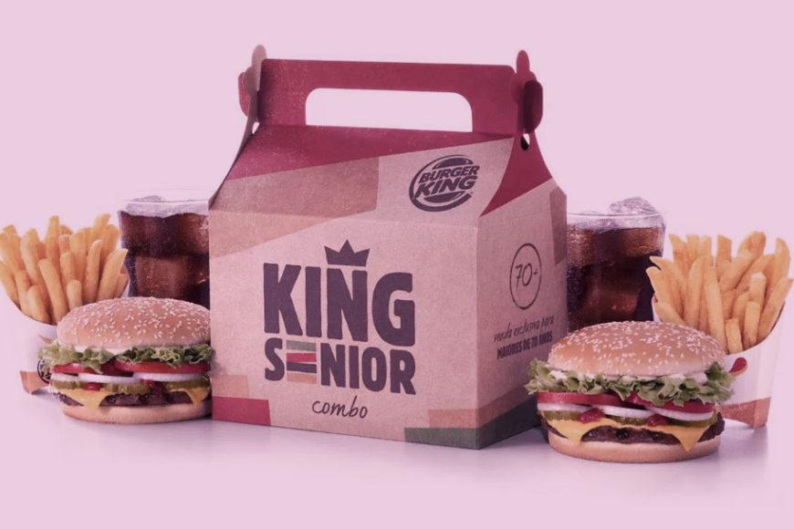 Burger King lança campanha focado no idoso