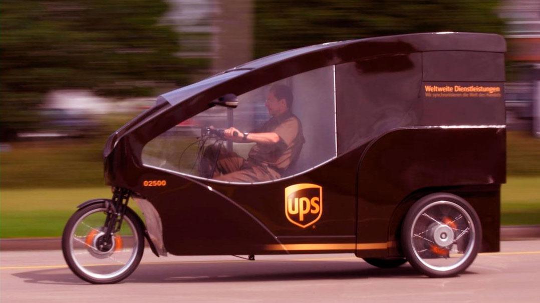 Cargo Cruiser: uma bicicleta de entrega de embalagens eco-friendly