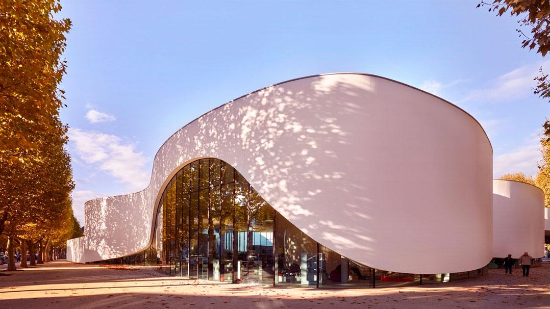 Conheça esta incrível biblioteca pública do nordeste da França
