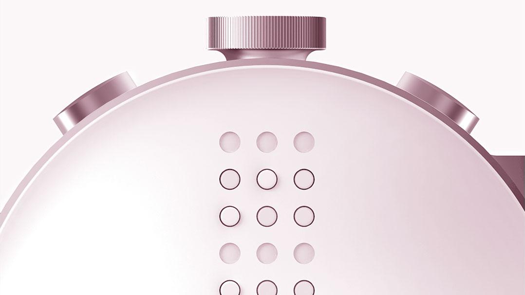 DOT: Um relógio inteligente para pessoas cegas
