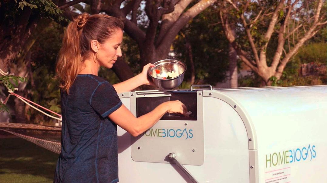 HomeBiogas: a composteira que transforma lixo orgânico em gás de cozinha