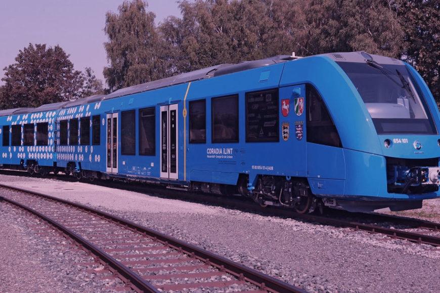 Trem movido a hidrogênio deve iniciar operações em 2018