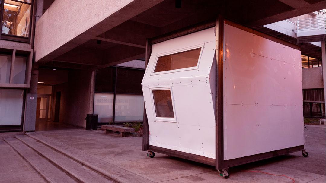 Estudantes de arquitetura desenvolvem abrigos para moradores de rua