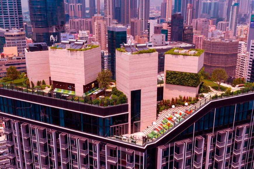Skypark: o prédio residencial sustentável pensado para os millennials