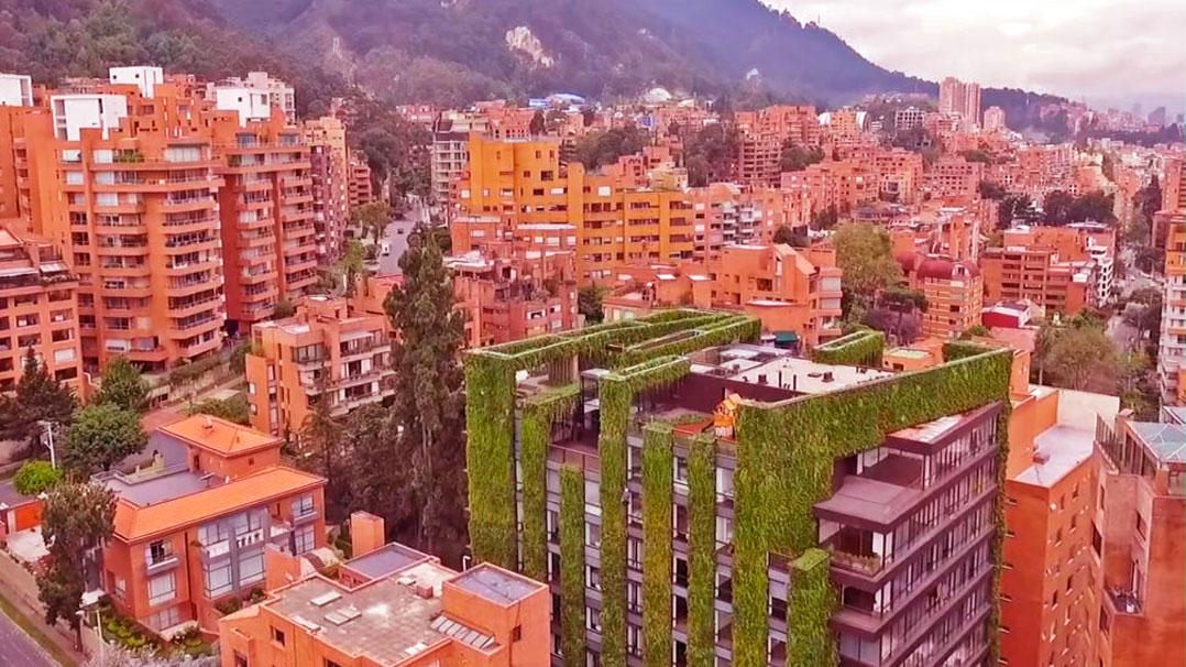 Os benefícios dos jardins verticais para as cidades