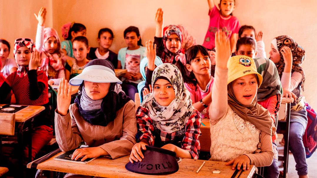 Projeto irá construir escola para 3.000 crianças em campo de refugiados na Jordânia