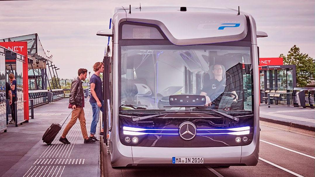 Future Bus: O ônibus autônomo da Mercedes-Benz
