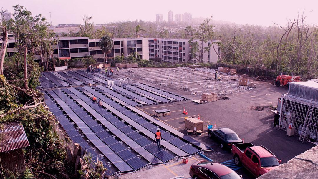 Tesla inicia armazenamento de energia solar em Porto Rico