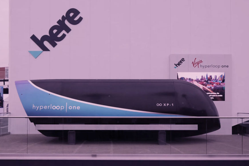 Virgin e HERE fazem demonstração inédita do sistema hyperloop na CES 2018