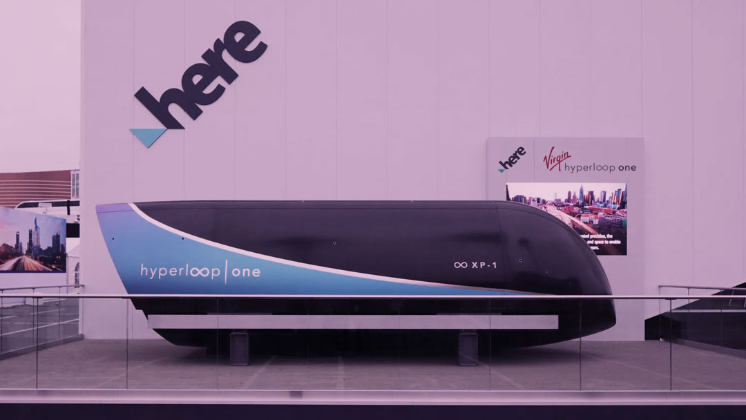 Virgin e HERE fazem demonstração inédita do sistema hyperloop na CES 2018