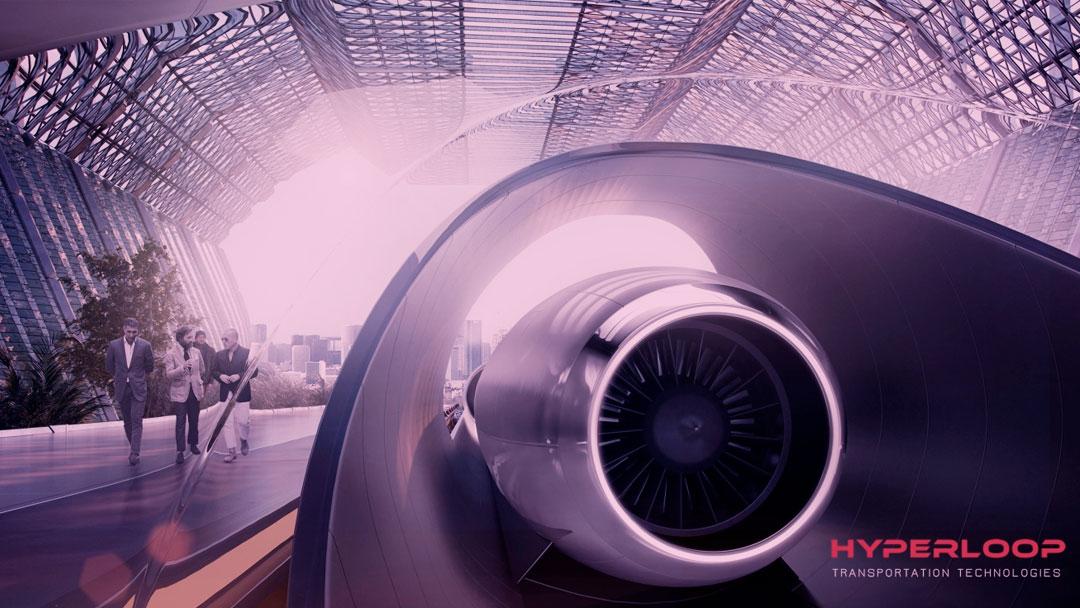 Hyperloop Transportation Technologies assina primeira acordo interestadual nos EUA