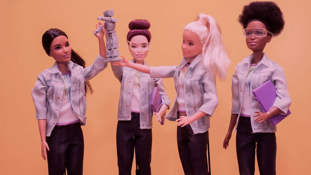 Agora a Barbie também é engenheira robótica – e eu invejo as crianças dessa geração