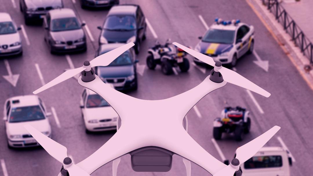 Um drone ajudou a polícia mexicana a diminuir 10% de sua taxa de crimes