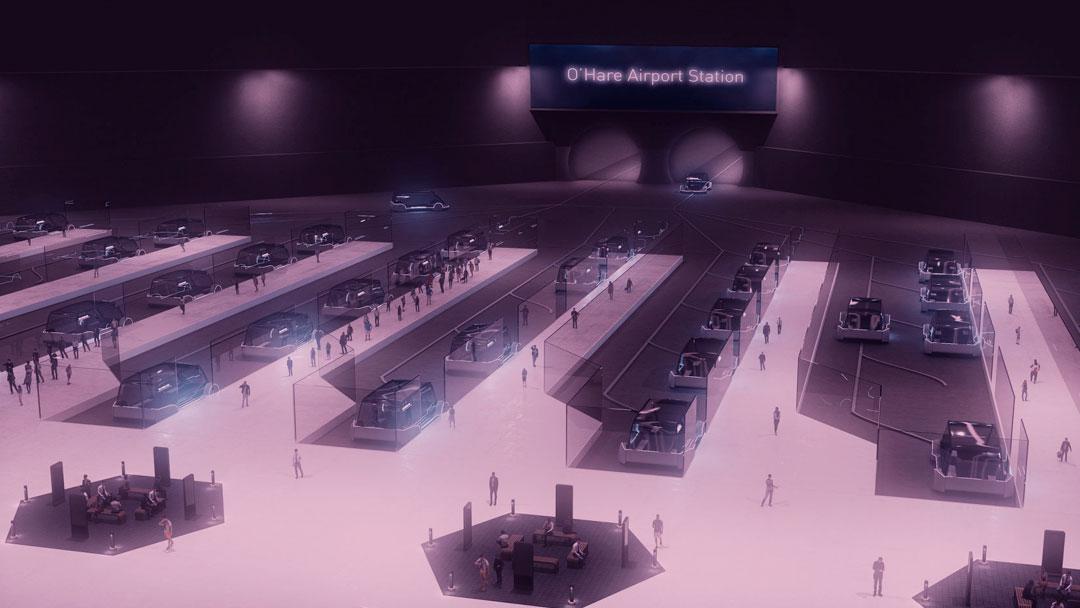 Chicago Express Loop: Túnel da Boring irá ligar aeroporto ao centro da cidade em 12 minutos