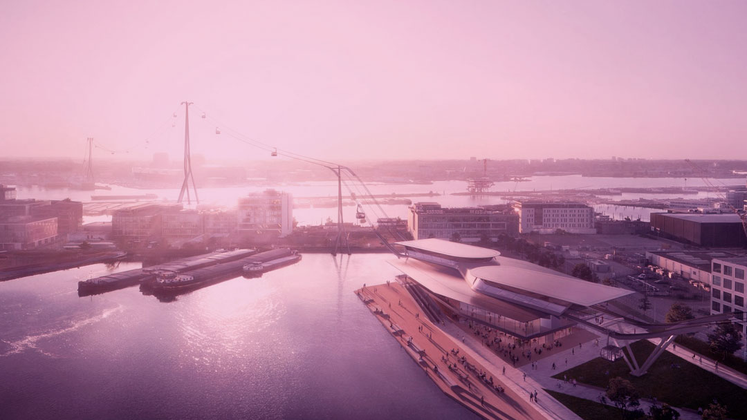 """Amsterdã ganhará uma """"ponte aérea"""" diferente até 2025"""