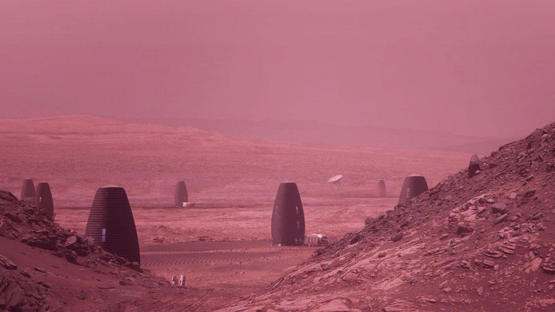 NASA anuncia vencedores de sua competição para desenvolver habitações impressas em 3D em Marte