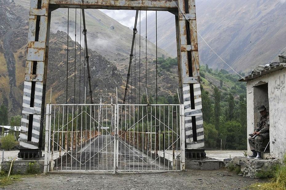 Um ponto de passagem de fronteira em Nusai, Afeganistão | Foto: Freya Morales / UNDP