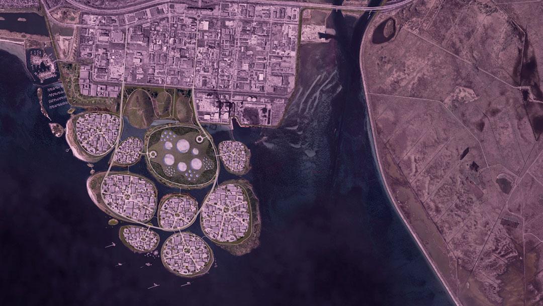 Holmene: costa dinamarquesa ganhará hub de tecnologia com nove ilhas artificiais