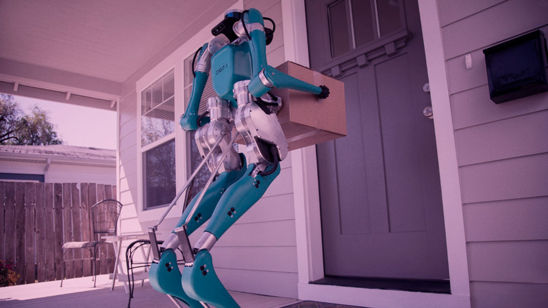 Digit: O robô inteligente que faz entregas com veículos autônomos