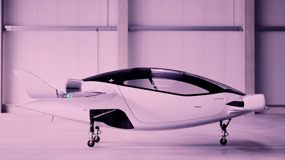 Empresa alemã que operar táxis aéreos totalmente elétricos até 2025