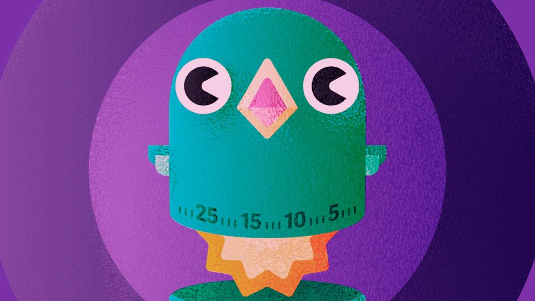 Cuckoo: Um temporizador de produtividade prático e eficiente