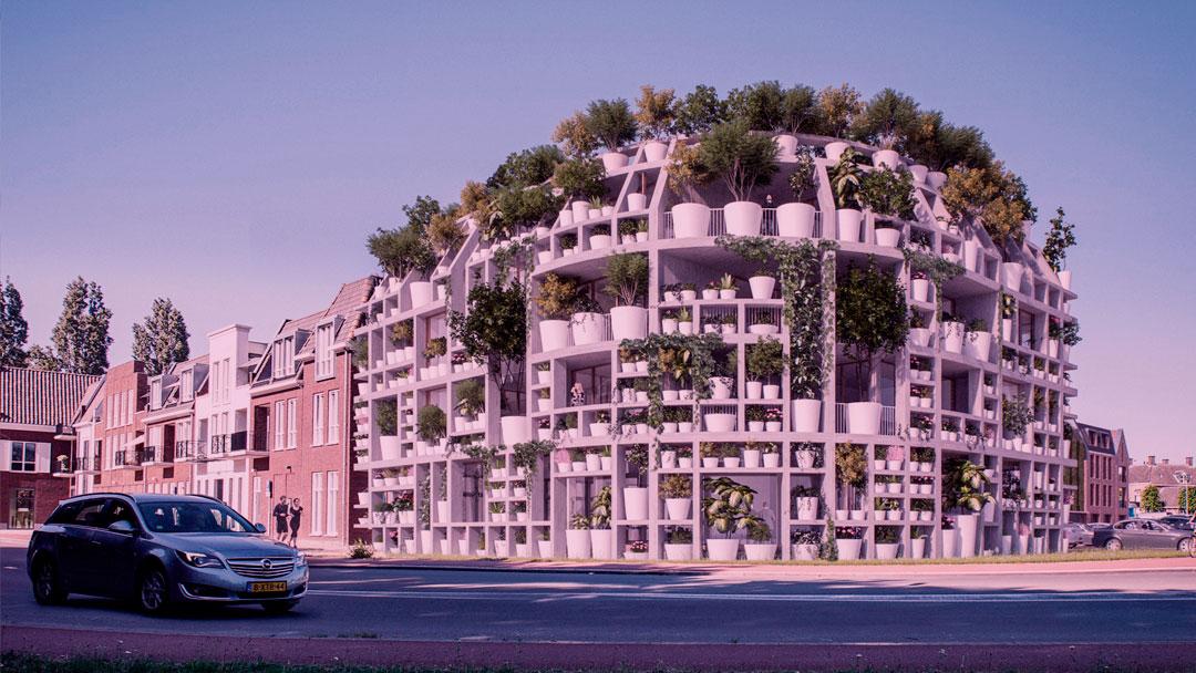 "Green Villa: o prédio que proporcionará uma ""terapia verde"" no meio da cidade"