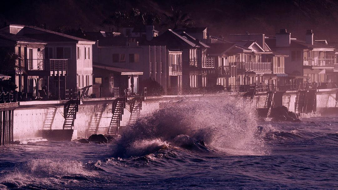 The Ocean Game: O nível do mar está subindo. Você conseguirá salvar sua cidade?