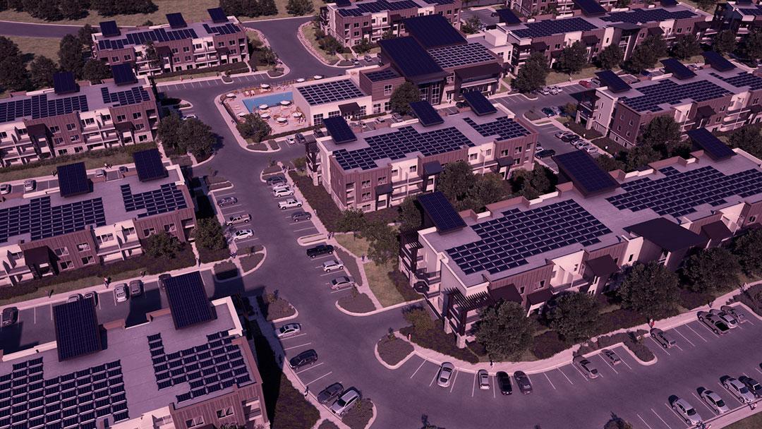 Soleil Lofts: 22 edifícios e 600 apartamentos alimentados por energia solar