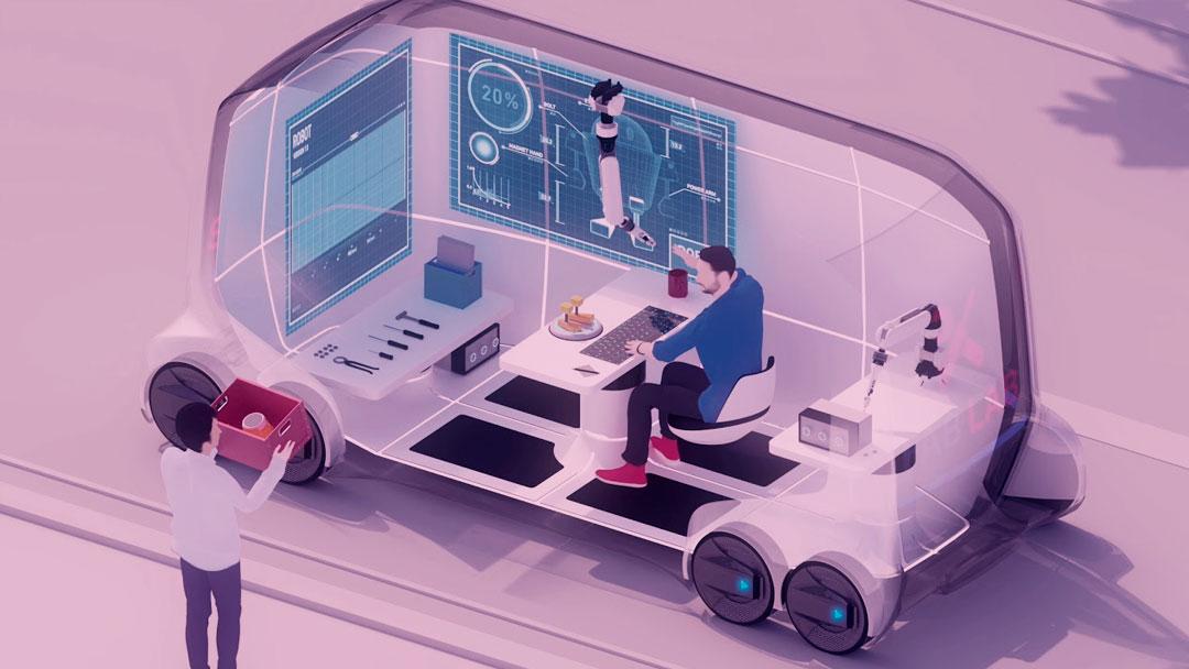 E-Palette: Veículo autônomo da Toyota irá transportar atletas em Tóquio, em 2020