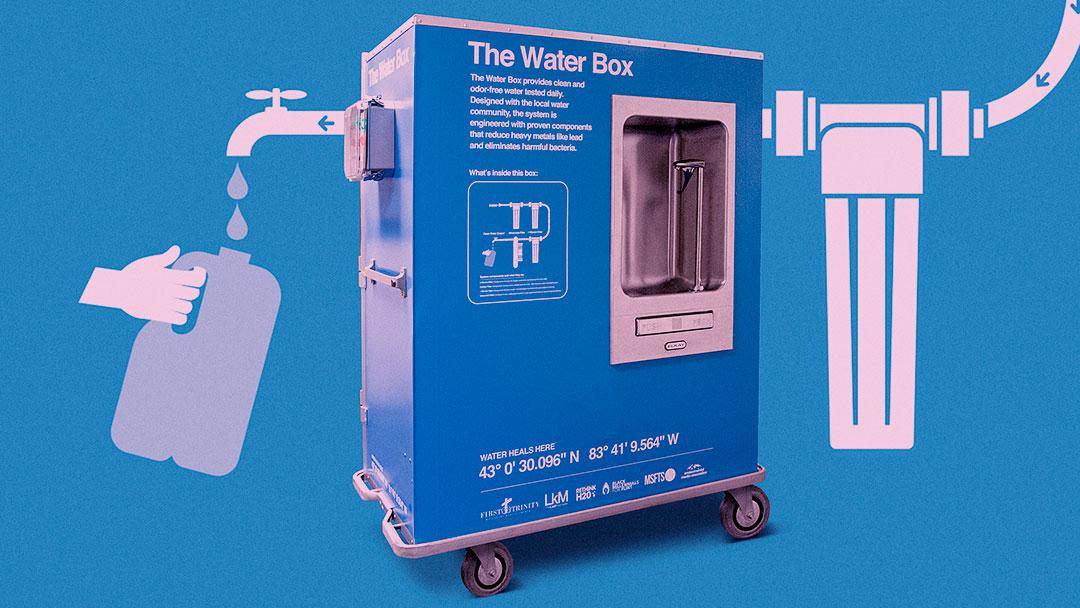 Water Box: Uma solução inovadora para a crise hídrica que a cidade de Flint vivencia desde 2014
