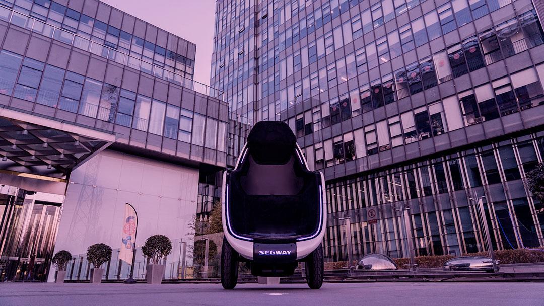 Wall-E da vida real? Segway apresenta o S-Pod na CES 2020
