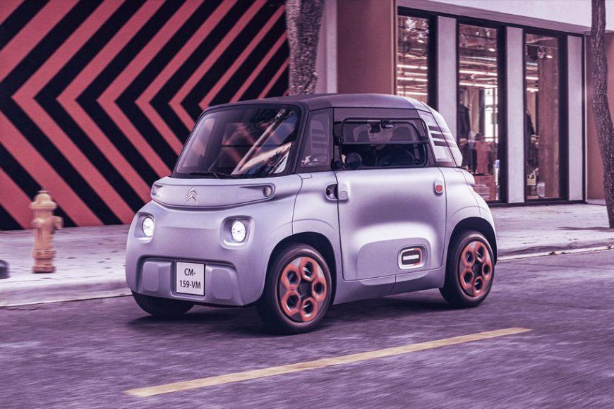 Citroën Ami: Uma alternativa para mobilidade urbana