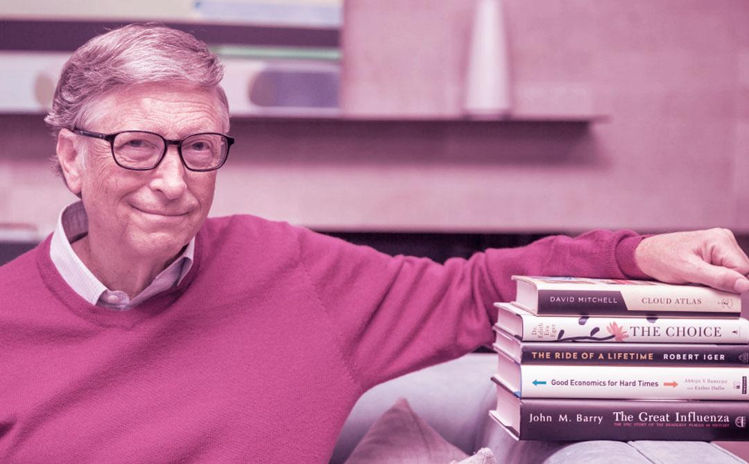 Sugestões de títulos para incluir em sua lista de leitura, por Bill Gates