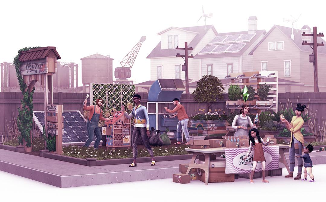 The Sims 4 Vida Sustentável: Consumo consciente e energia limpa