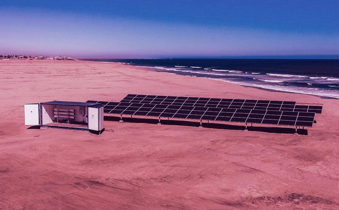 É possível usar energia solar para gerar água limpa?