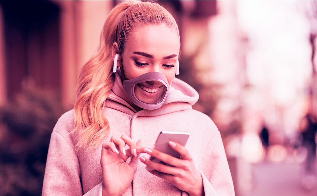 CLIU: uma máscara transparente que une funcionalidade e tecnologia