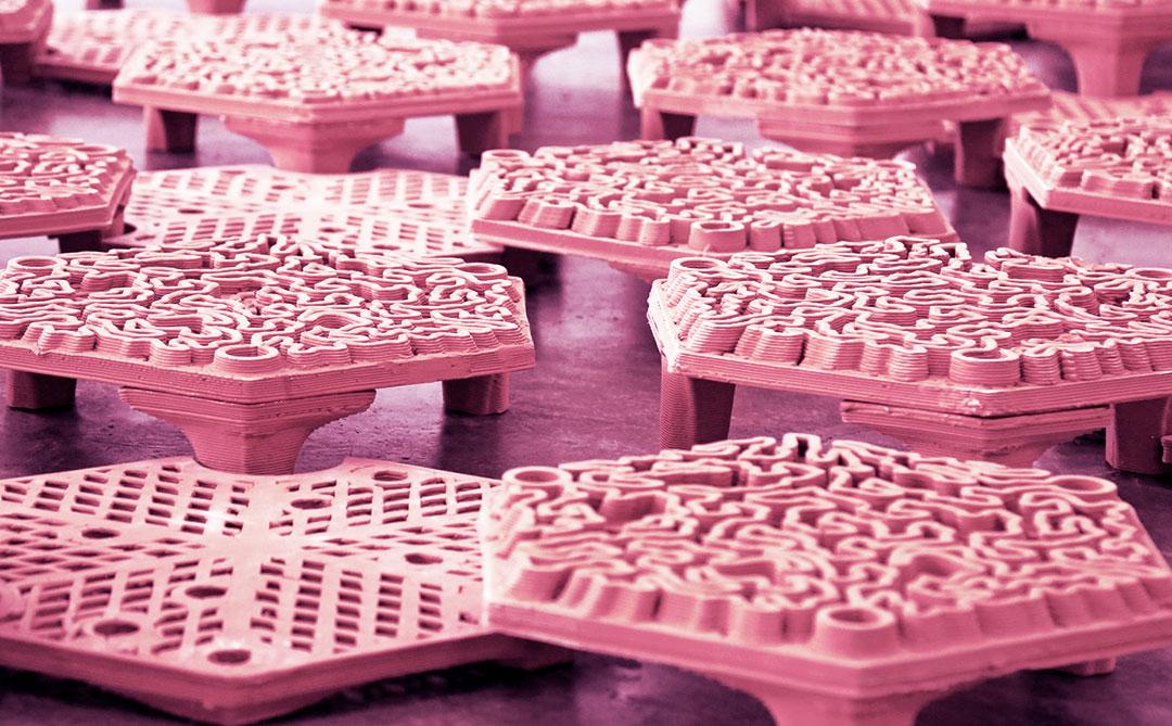 Estruturas impressas em 3D poderão ajudar na recuperação de corais