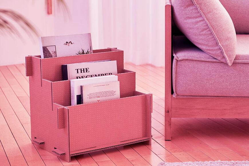 Eco-Package da Samsung se transforma em casinha para pets e outros itens