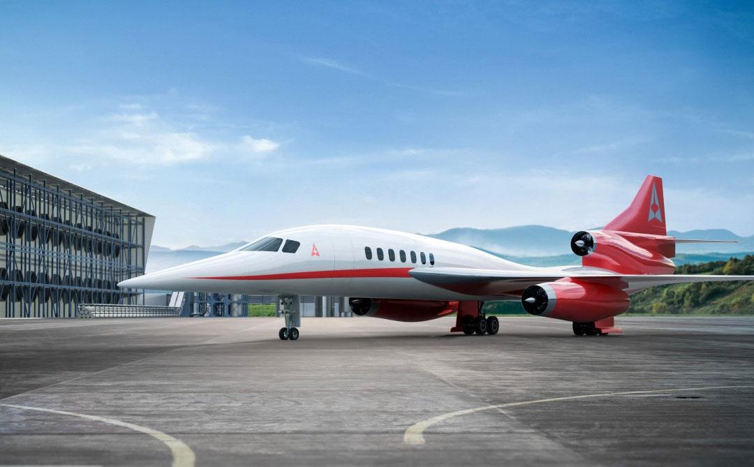 Empresa canadense e norte-americana criam aviões que usam CO2 como combustível e supersônico eco sustentável
