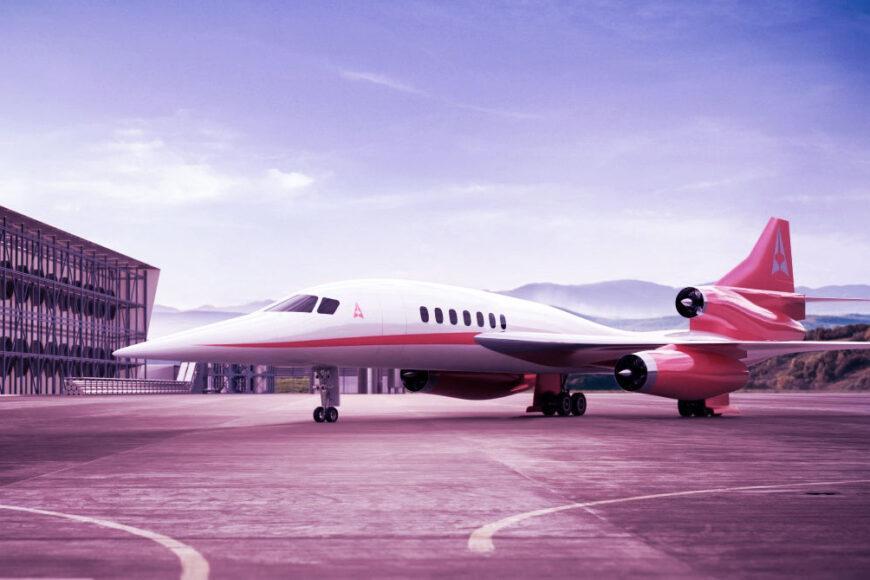 Empresas criam avião que usa CO2 como combustível e supersônico eco sustentável