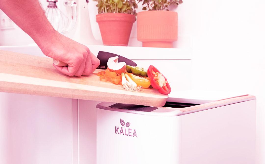 Kalea: O dispositivo que transforma lixo orgânico em composto em 48h