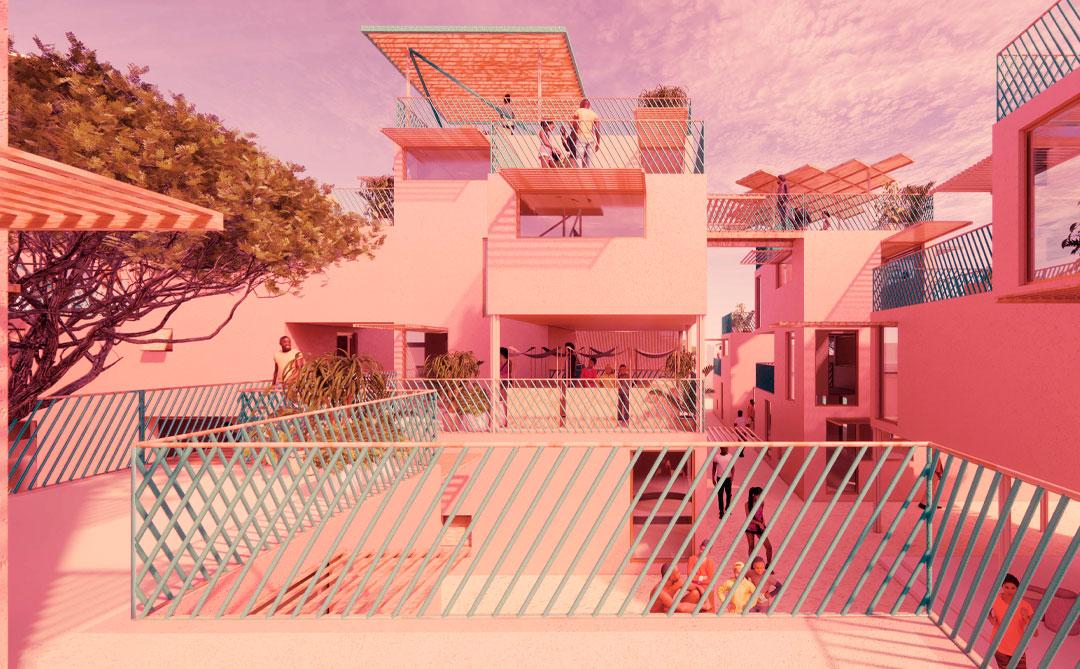 As casas modulares produzidas com plástico reciclado da Othalo