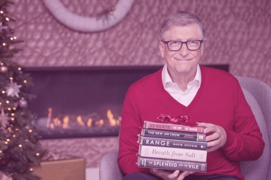 5 livros indicados por Bill Gates para ler ainda em 2020