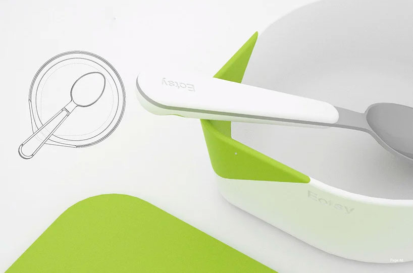 EATSY: Uma linha de utensílios pensada para deficientes visuais