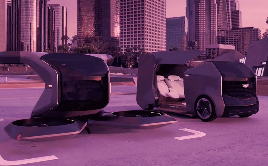 """GM: mais um para a corrida dos """"carros voadores""""?"""