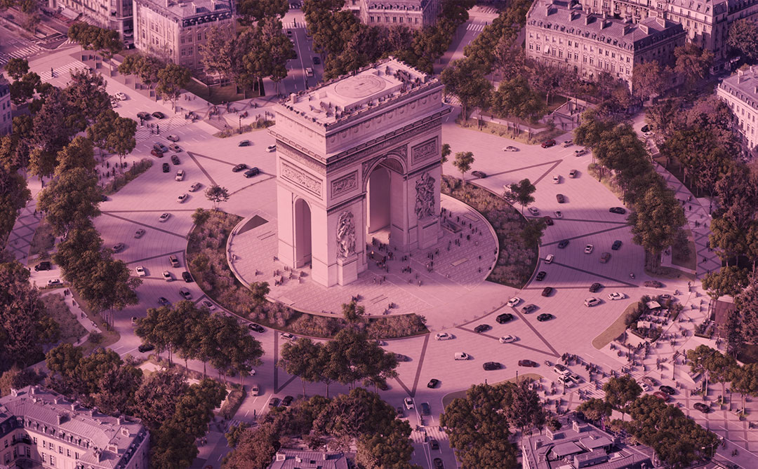 """Champs-Élysées ganhará """"reforma verde"""" até as Olímpiadas de 2024"""