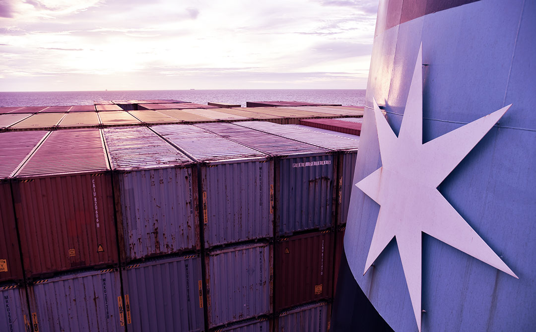 Maersk terá primeiro  navio porta-contêineres carbono neutro do mundo