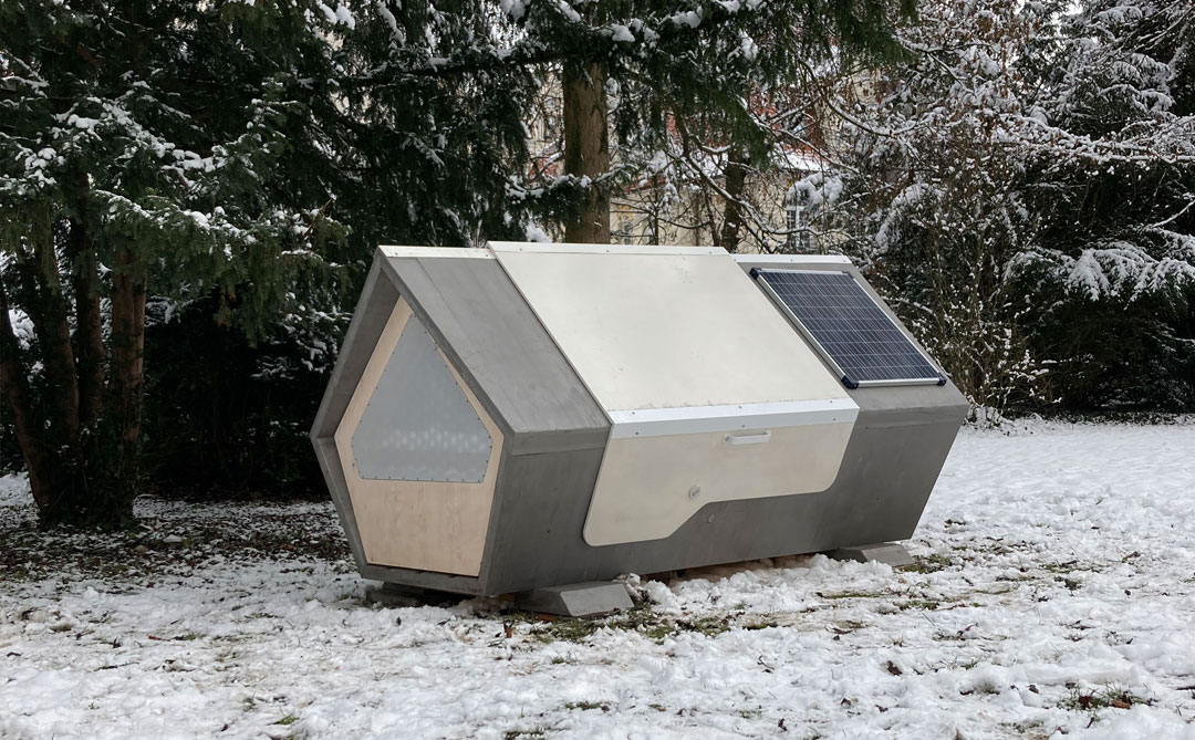 Ulmer Nest: abrigo para o inverno alemão
